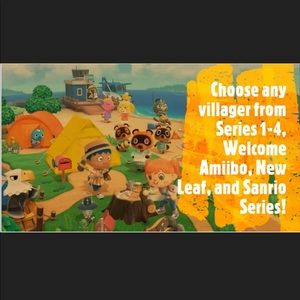Animal Crossing New Horizons NFC Tags - Pick Any